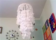 how to make the lamp shade with own hands: 19 thousand images are found in Yandex. Pictures
