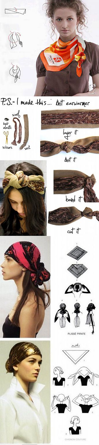 Square scarf: for all occasions   Useful tips