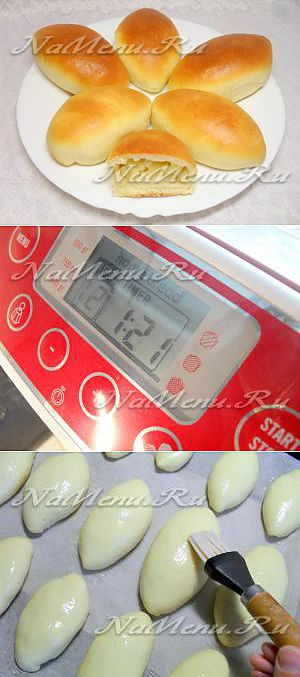 The recipe of pies with apples in the bread machine