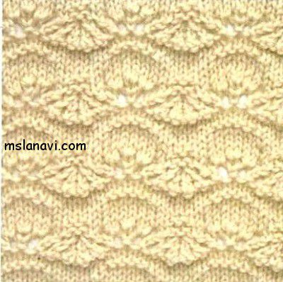 Openwork pattern spokes | we Knit with Lana Vi
